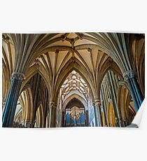 Wells Cathedral 3 Poster
