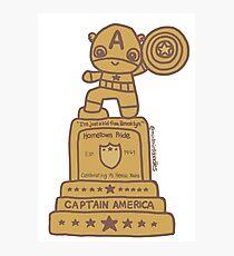 Cap Statue Photographic Print