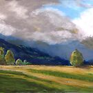 Stormy day over the Liverpool Ranges  by Virginia McGowan