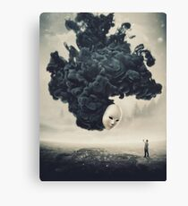 The Selfie A Dark Surrealism Canvas Print