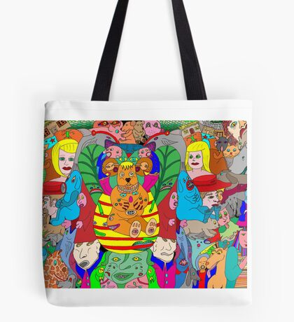 A hint of colourful symmetry Tote Bag