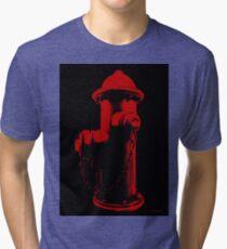 Fire Red Tri-blend T-Shirt