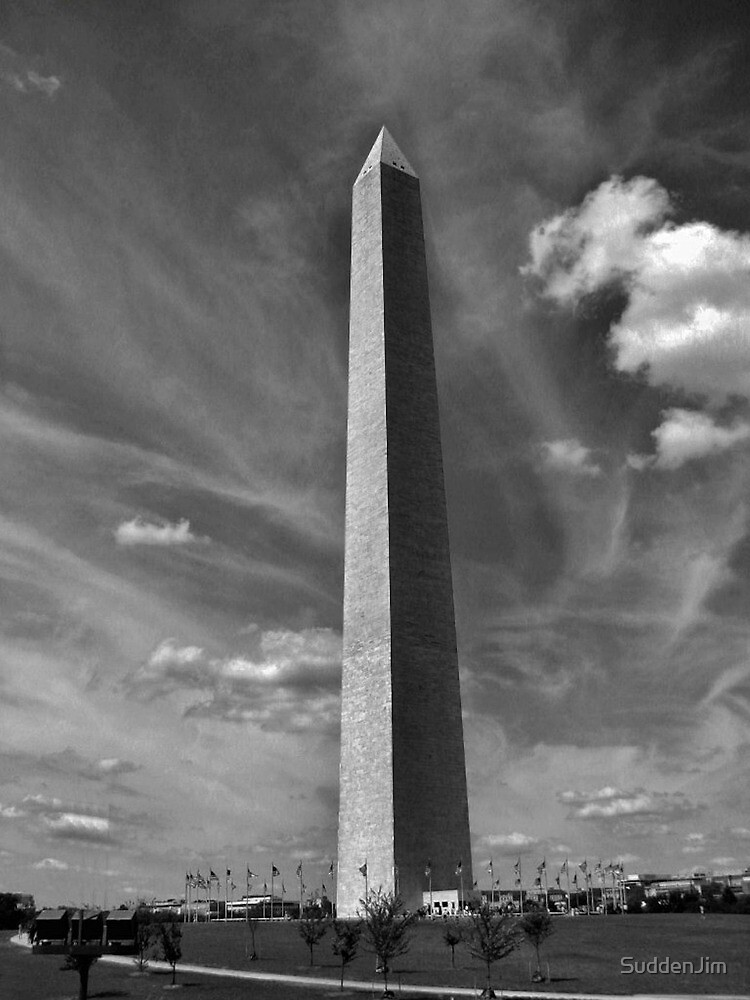 Washington Monument by SuddenJim