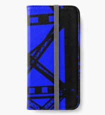 Railroad Beams Ink iPhone Wallet/Case/Skin