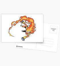Infernape Postcards