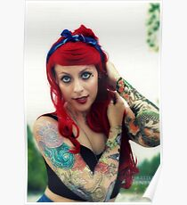 Inked Ariel Cosplay Poster