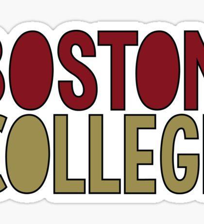 BOSTON COLLEGE Sticker