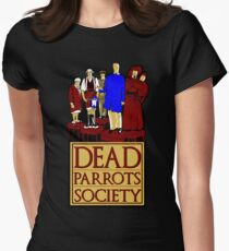 Dead Parrots Society Womens Fitted T-Shirt