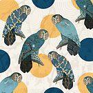 Owl Polka by Paula Belle Flores