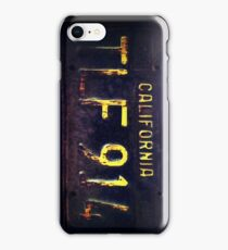 Vintage California Licence Plate iPhone Case/Skin
