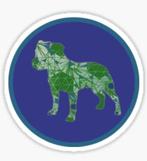 Staffy Dog Sticker