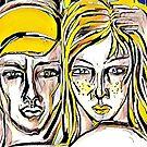 Reciprocal Nurture - Version 5 by Anthea  Slade