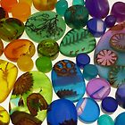 Coloured Resin Beads Design 3 by noworrybeads