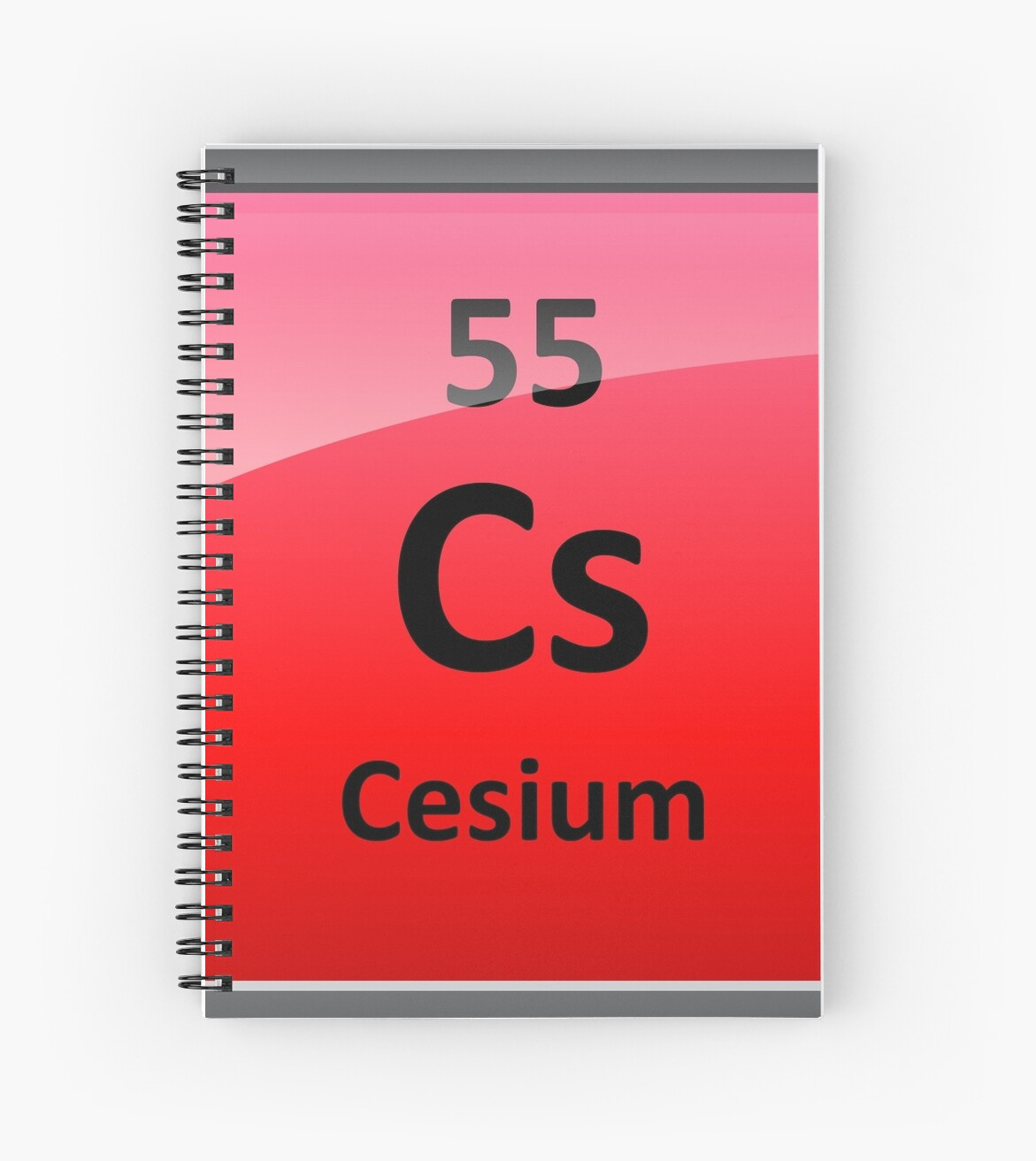 Cesium periodic table element symbol spiral notebooks by cesium periodic table element symbol by sciencenotes biocorpaavc Image collections