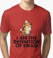 Pokemon Swag Tri-blend T-Shirt