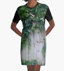 The Green Can Never Be Blocked Graphic T-Shirt Dress