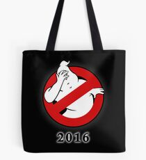 Ghostbusters Facepalm Tote Bag