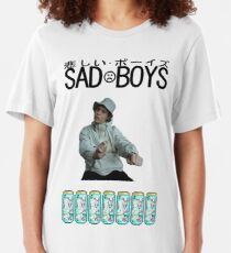 Sad Boys Yung Lean  Slim Fit T-Shirt