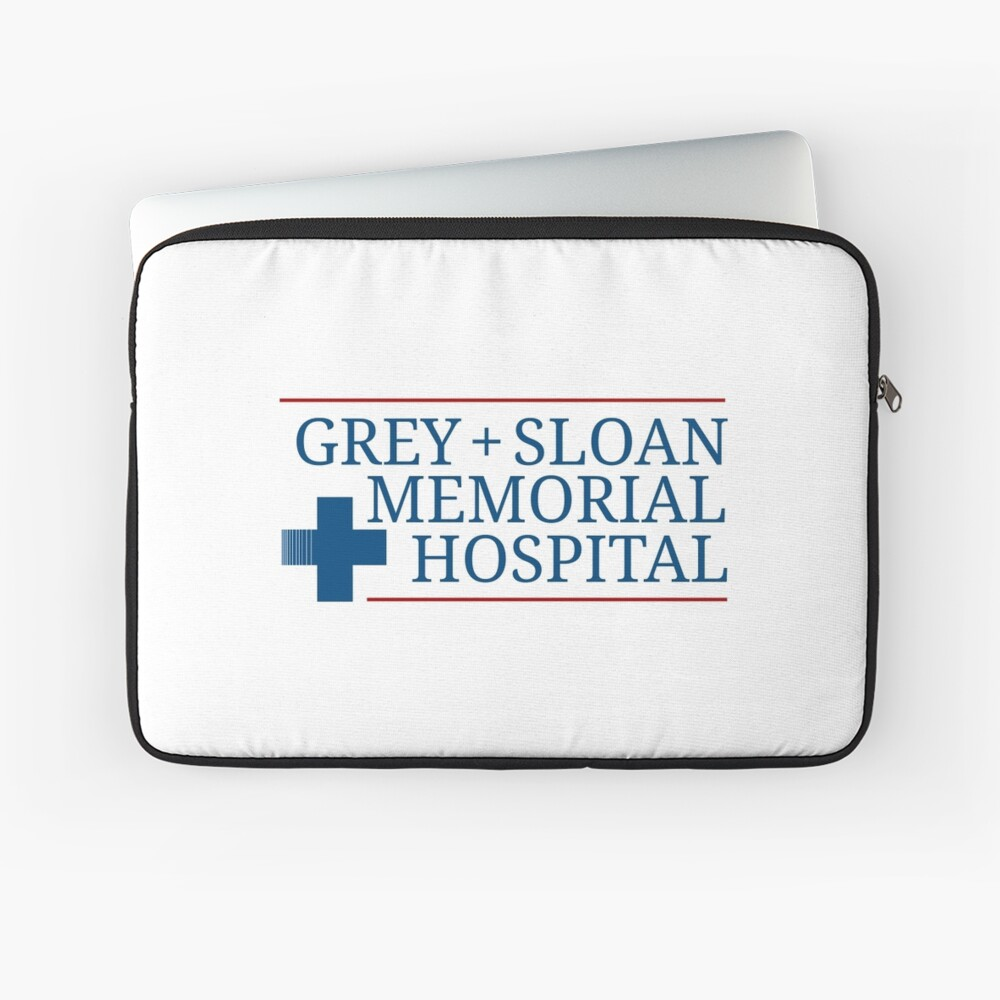 Grey + Sloan Memorial Hospital Laptop Sleeve