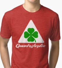Quadrifoglio Alfa Fill Graphic Print Tri-blend T-Shirt