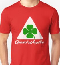 Quadrifoglio Alfa Fill Graphic Print Unisex T-Shirt