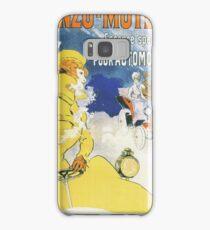 Vintage Jules Cheret Benzo Moteuur Samsung Galaxy Case/Skin
