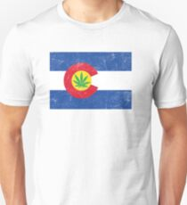 Vintage Colorado Cannabis T-Shirt