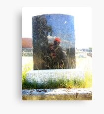 Grave Reflections 2 Metal Print