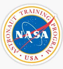 NASA - Astronaut Training Program Sticker
