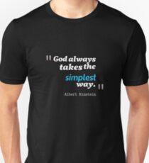 A. Einstein Quote T-Shirt