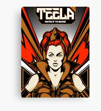 Teela : Masters Of The Universe Canvas Print