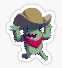 Little Cactus Dave Sticker