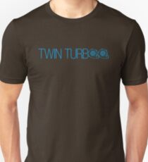 TWIN TURBO (2) Unisex T-Shirt