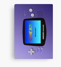 Game Boy Advance Canvas Print
