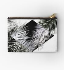 Palm Leaves 3 Geometry Studio Pouch