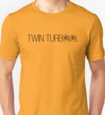 TWIN TURBO (4) Unisex T-Shirt