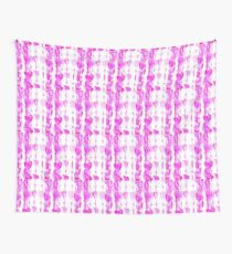hearts on strings Wall Tapestry