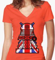Dr Who - Jack Dalek Women's Fitted V-Neck T-Shirt