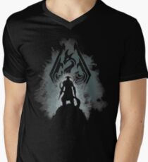 The Dovahkiin Mens V-Neck T-Shirt