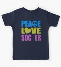 Peace Love Soccer 578 Kids Clothes
