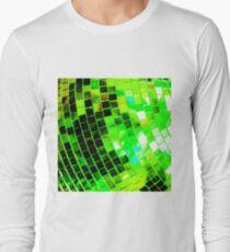 Funky Green Disco Ball Long Sleeve T-Shirt