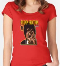 Plump Friction Women's Fitted Scoop T-Shirt