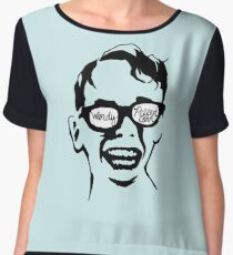 Oiling and Lotioning, Lotioning and Oiling Chiffon Top