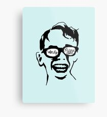 Oiling and Lotioning, Lotioning and Oiling Metal Print