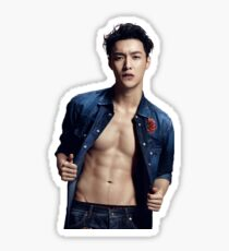 Zhang Yixing Trends Health Magazine Sticker