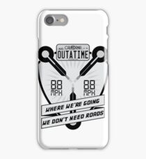 Flux Capacitor Redux iPhone Case/Skin