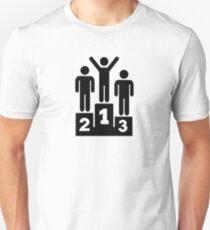 Podium Winner Champion Unisex T-Shirt