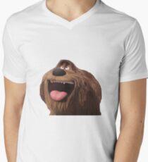 duke secret life of pets Men's V-Neck T-Shirt