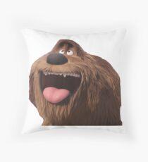 duke secret life of pets Throw Pillow