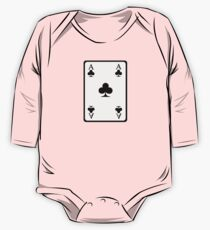 Poker ace clubs One Piece - Long Sleeve